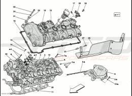 Ferrari 458 Speciale LH Cylinder Head