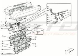 Ferrari 458 Speciale Suction Manifold