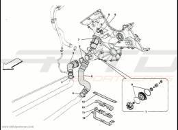 Ferrari 458 Speciale Water Pump