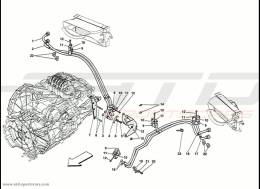 Ferrari 458 Speciale Gearbox Lubrification
