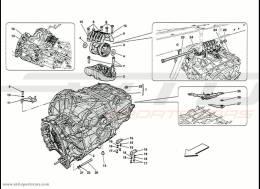 Ferrari 458 Speciale Gearbox