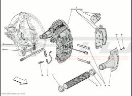 Ferrari 458 Speciale Brake Calipers - Rear