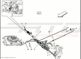 Ferrari 458 Speciale Hydraulic Steering Box