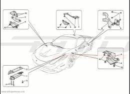 Ferrari 458 Speciale Tyre Pressure Control System