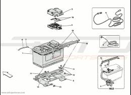 Ferrari 458 Speciale Battery