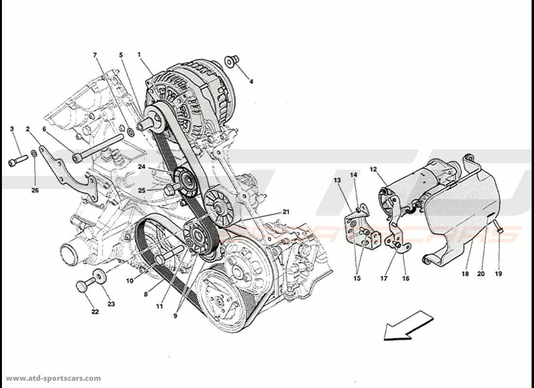 CURRENT GENERATOR STARTING MOTOR