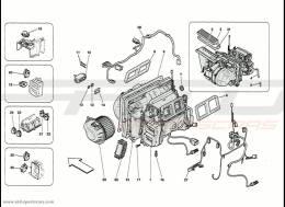 Ferrari 458 Speciale Evaporator Unit