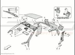 Ferrari 458 Speciale Roof Panel Accessories