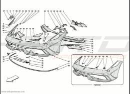 Ferrari 458 Speciale Front Bumper
