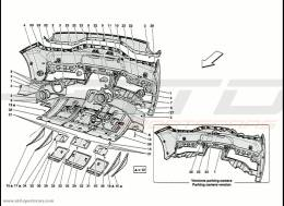 Ferrari 458 Speciale Rear Bumper