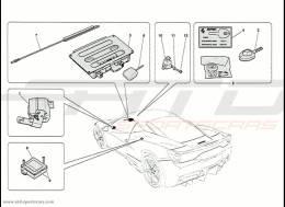 Ferrari 458 Speciale Anti-theft Devices