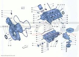 Ferrari California Turbo Crankcase