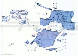 Ferrari California Turbo FUEL TANK
