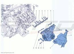 Ferrari California Turbo MANIFOLDS, TURBOCHARGING SYSTEM AND PIPES