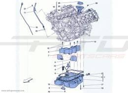Ferrari California Turbo LUBRICATION: CIRCUIT AND PICKUP
