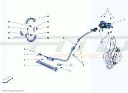 Ferrari California Turbo PARKING BRAKE
