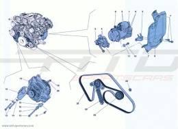 Ferrari California Turbo ALTERNATOR - STARTER MOTOR