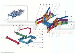 Ferrari California Turbo STRUCTURES AND ELEMENTS, FRONT OF VEHICLE