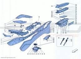 Ferrari California Turbo TUNNEL - SUBSTRUCTURE AND ACCESSORIES