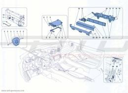 Ferrari California Turbo AIRBAGS