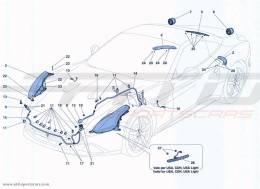 Ferrari California Turbo HEADLIGHTS AND TAILLIGHTS