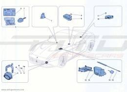 Ferrari California Turbo ANTI-THEFT SYSTEM