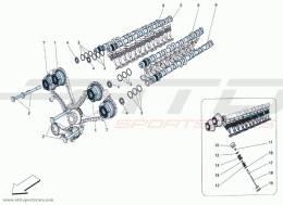 Ferrari F12 Berlinetta DISTRIBUTION TAPPETS