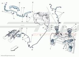 Ferrari F12 Berlinetta PUMPS AND PIPING SUPPLY