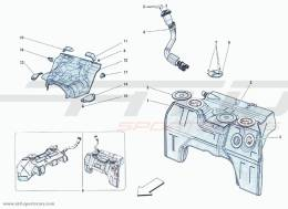Ferrari F12 Berlinetta FUEL FILLER AND