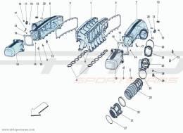 Ferrari F12 Berlinetta INTAKE MANIFOLD