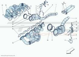 Ferrari F12 Berlinetta PRE-CATALYSTS AND CATALYSTS