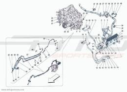 Ferrari F12 Berlinetta HEAT EXCHANGER