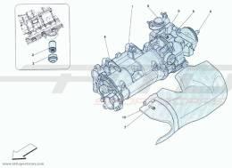 Ferrari F12 Berlinetta COOLING - OIL PUMP