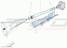 Ferrari F12 Berlinetta PIPE TRANSMISSION