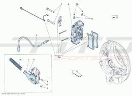 Ferrari F12 Berlinetta REAR BRAKE CALIPERS