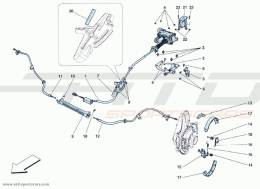 Ferrari F12 Berlinetta COMMAND HANDBRAKE