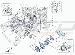 Ferrari F12 Berlinetta POWER STEERING PUMP AND TANK