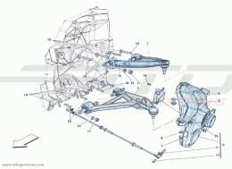 Ferrari F12 Berlinetta FRONT SUSPENSION - LEVERS
