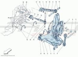 Ferrari F12 Berlinetta REAR SUSPENSION - LEVERS