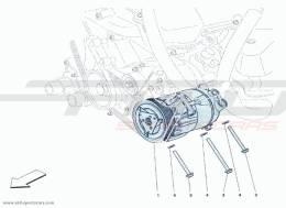 Ferrari F12 Berlinetta AIR CONDITIONING COMPRESSOR