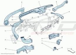 Ferrari F12 Berlinetta AIR DUCTS PLANK