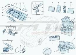 Ferrari F12 Berlinetta ENDOWMENT TOOLS AND EQUIPMENT