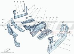 Ferrari F12 Berlinetta STRUCTURES AND ELEMENTS THE CENTRAL PART