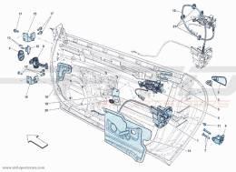 Ferrari F12 Berlinetta DOORS - OPEN COMMAND AND HINGES