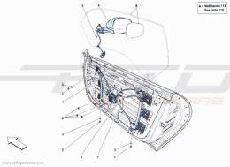 Ferrari F12 Berlinetta DOORS - WINDER AND MIRROR