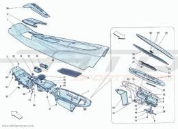 Ferrari F12 Berlinetta TUNNEL - FRAMEWORK AND ACCESSORIES