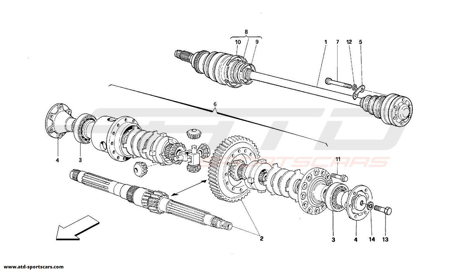 straight axle front suspension