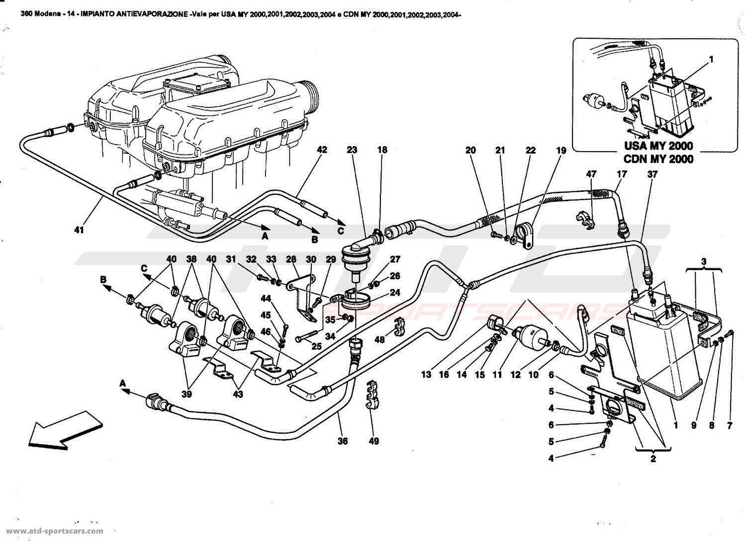 Ferrari 360 Fuel Evaporation System Wiring Diagram Fuse Box