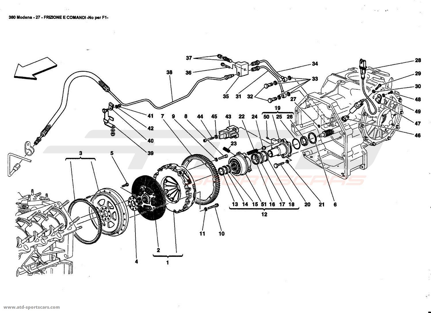 CLUTCH AND CONTROLS -Not for F1-