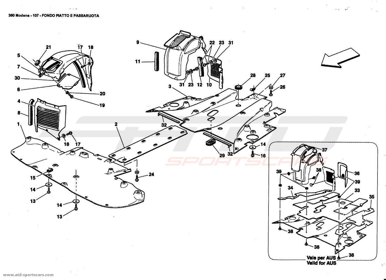FLAT FLOOR PAN AND WHEELHOUSE